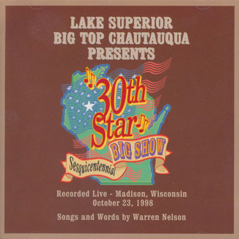 30th Star - Wisconsin Sesquicentennial CD